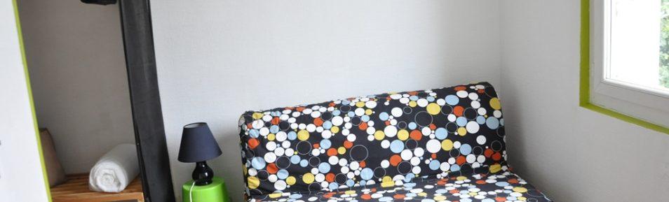 Studio meublé de 13 m² loué