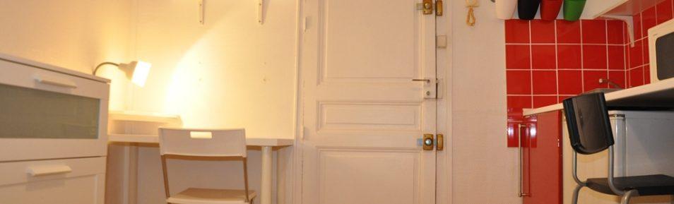 Studio meublé de 15 m² loué