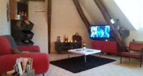 F2 duplex de 37 m² loué