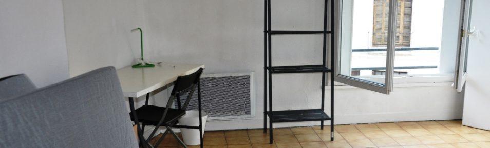 F1 meublé de 27 m² loué