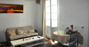 F2 de 47 m² loué