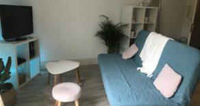 Studio meublé de 28 m² loué