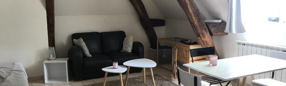 F2 en duplex de 30 m² disponible en aout