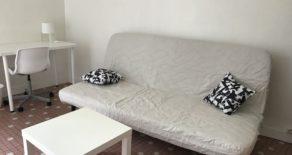 Studio meublé de 25 m² réservé