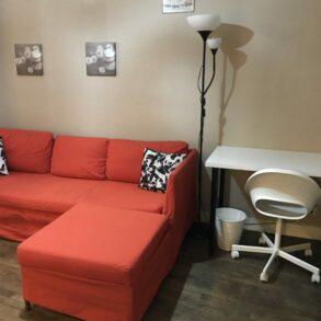 Studio meublé de 23 m² loué